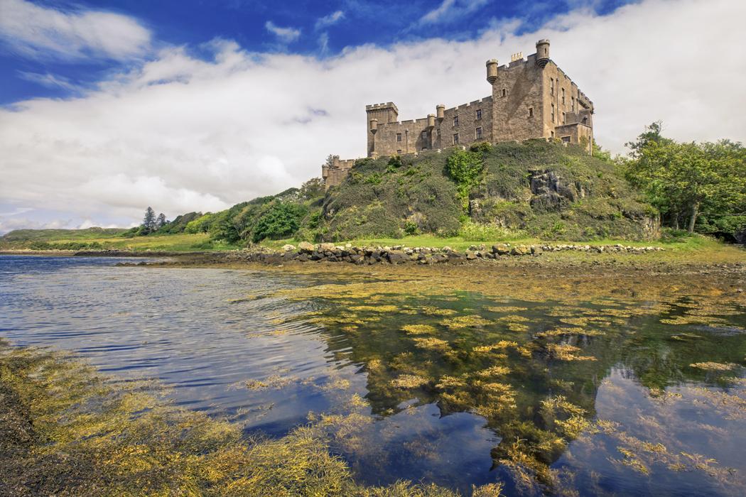 Chateau de Dunvegan le de Skye Ecosse (2)