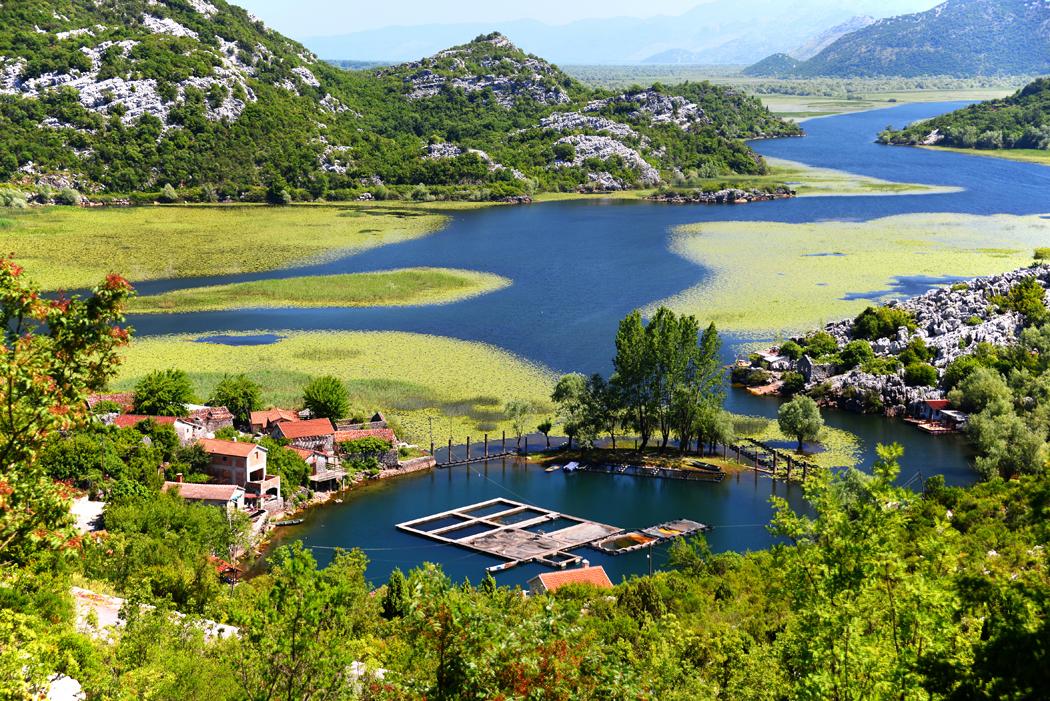 Karuc village, lac Skadar, Monténégro