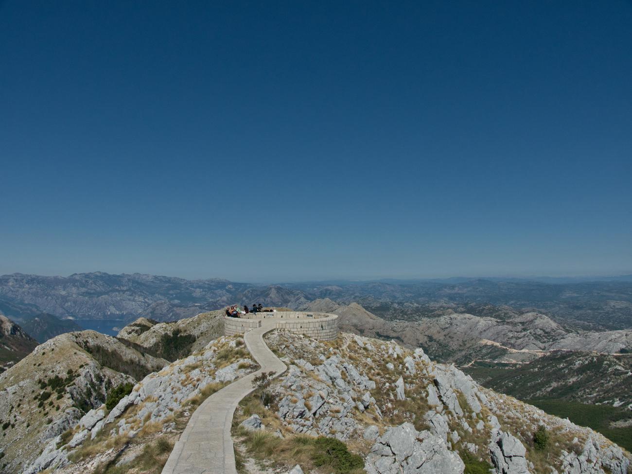 Mont Lovcen, Monténégro