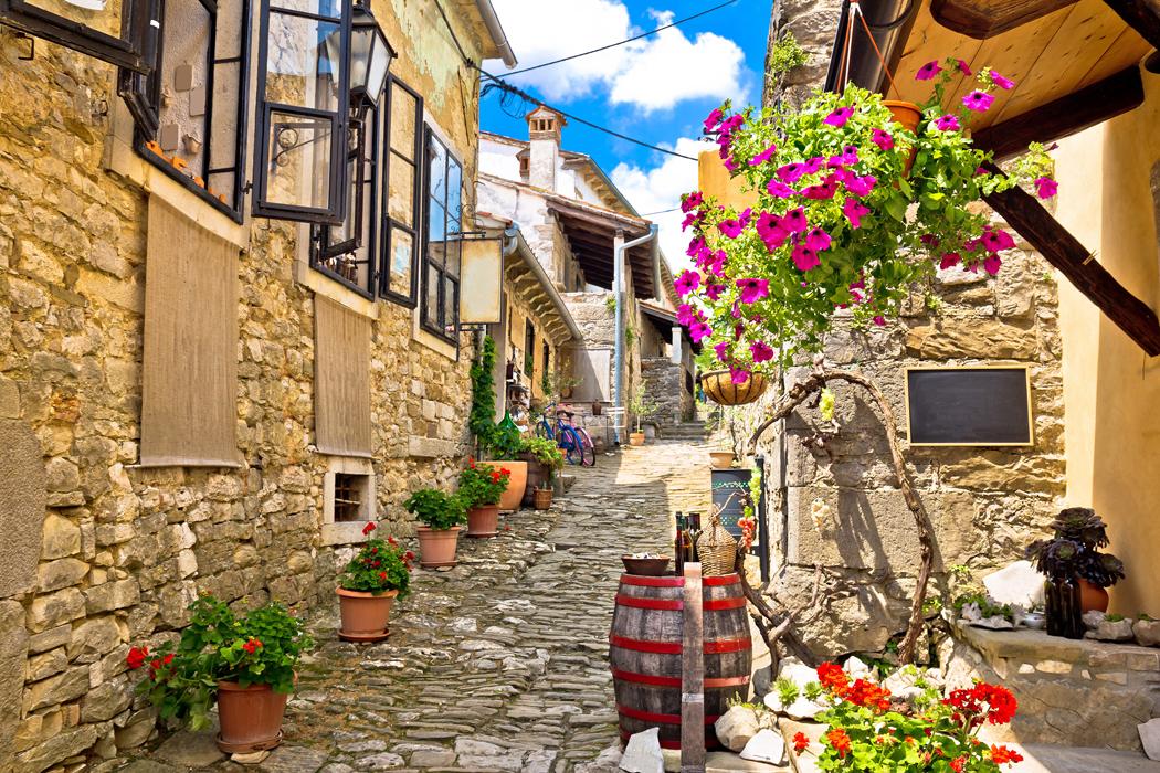 village de hum istrie croatie