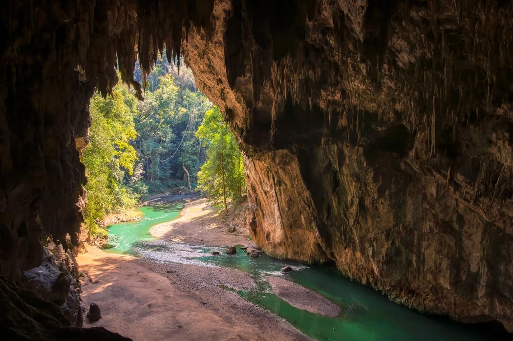 Tham Lod Cave, grotte a Pai en Thailande