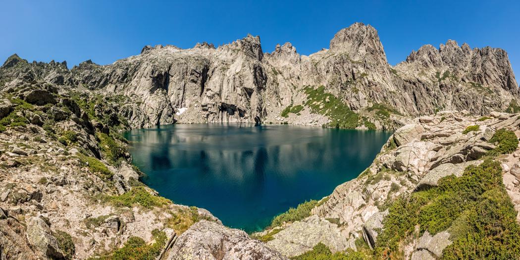 Visiter lac de Capitello Corse