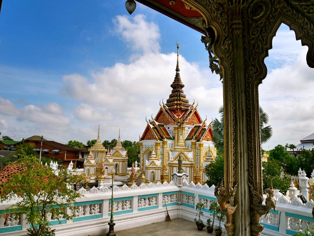 Wat Klang pai Thailande